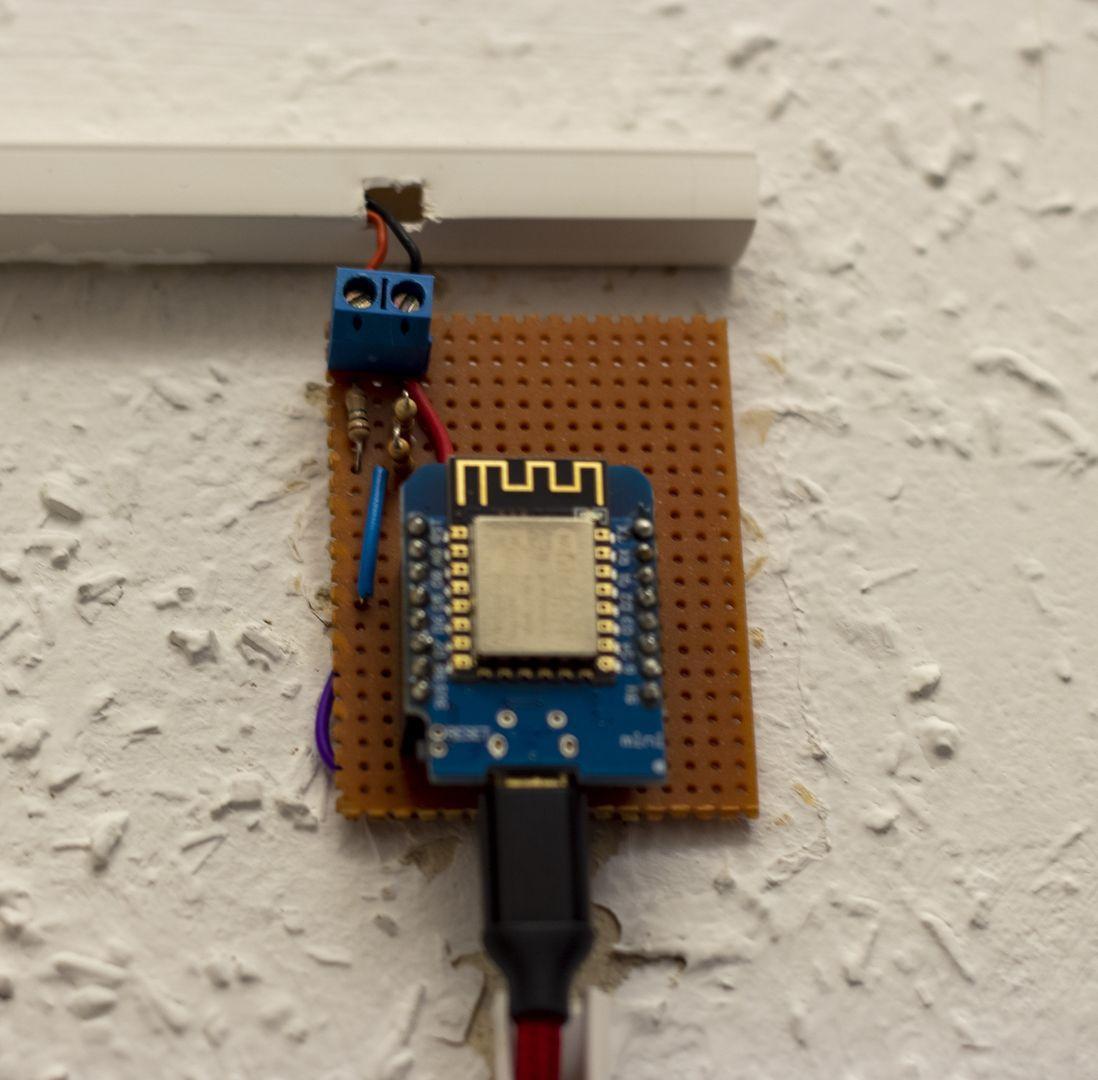 Spannungsteiler am ESP8266